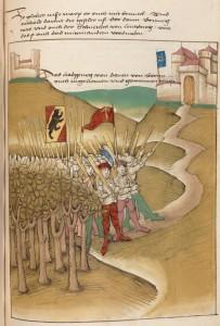 Die Berner erobern Schloss Habsburg