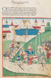König Sigismund zieht in Konstanz ein