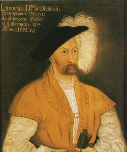 Ludwig von Diesbach, anno 1512