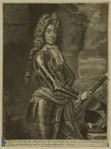 Ludwig Wilhalm Markgraf von Baden. Bild 1680