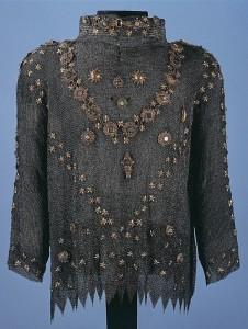 osmanisches Kettenhemd zum Vergleich mit Bernhards!