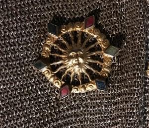Kettenhemd Wildegg Detail Sonne